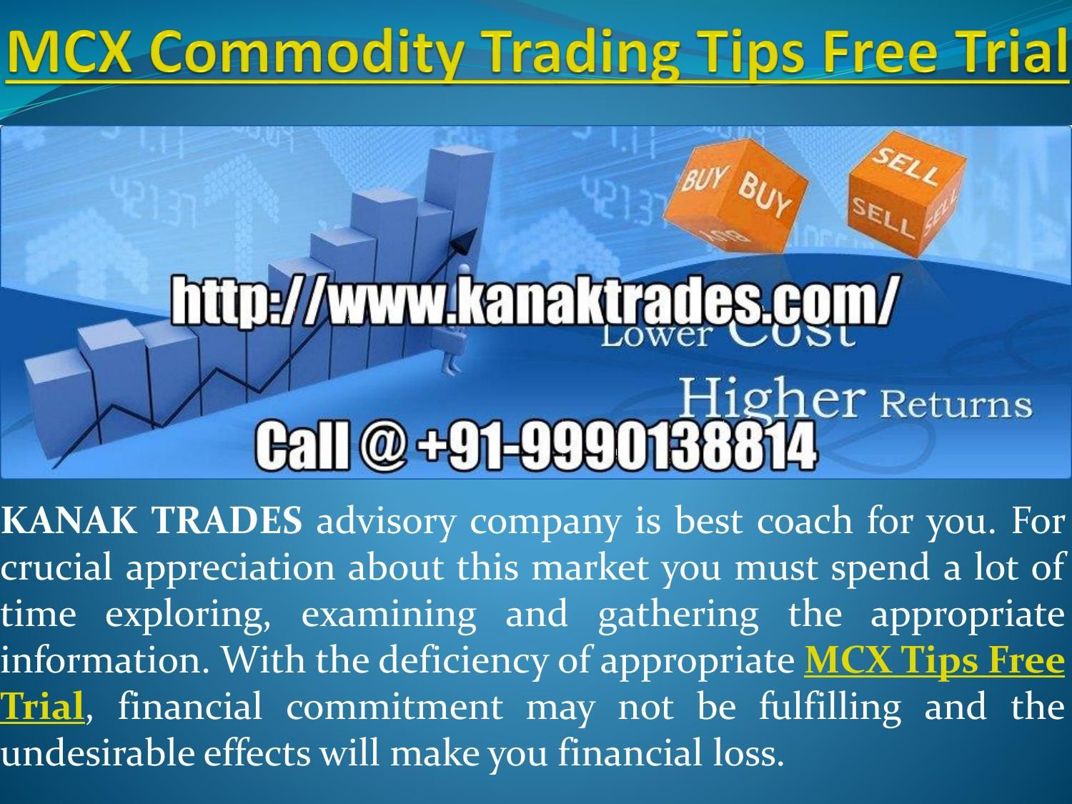 Mcx commodity trading tips free trial | silver tips free