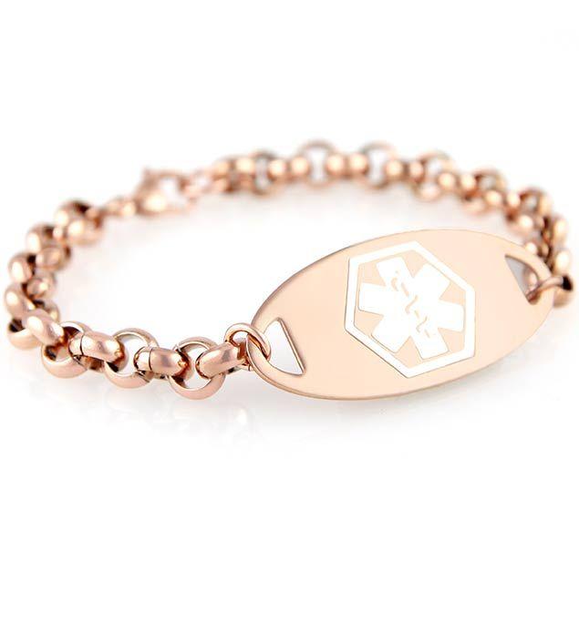 Claire Medical Id Bracelet Medic Alert Bracelets Medical Alert Jewelry Medical Alert Bracelet Womens