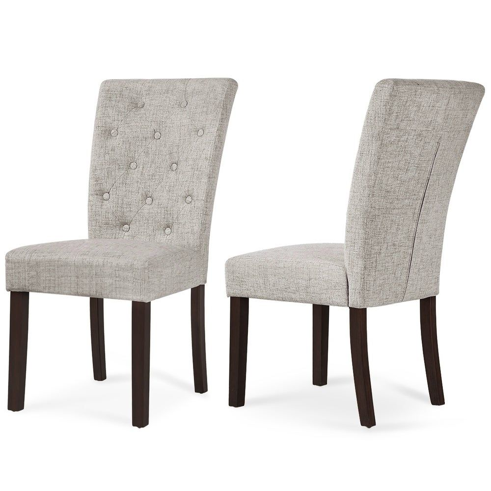 Harper Bright Designs Leisure Padded Dining Chair Set Of 2