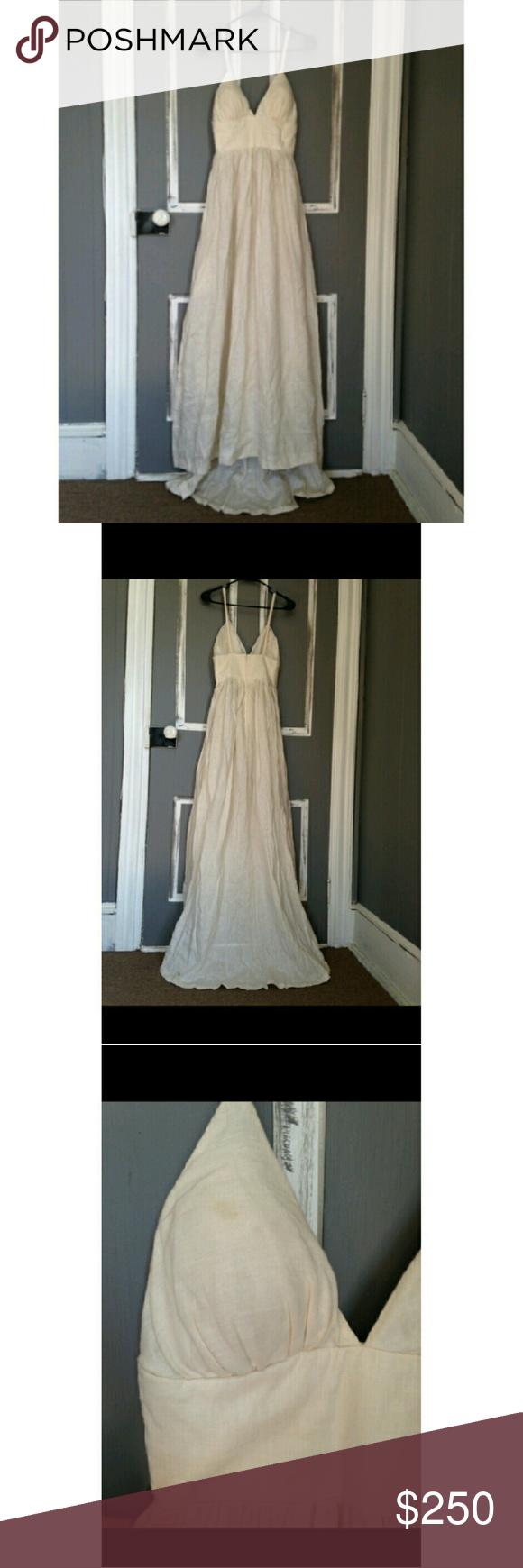 Wedding dress dry cleaning near me  J Crew custom Wedding dress ONE OF A KIND  PoshMark  Pinterest