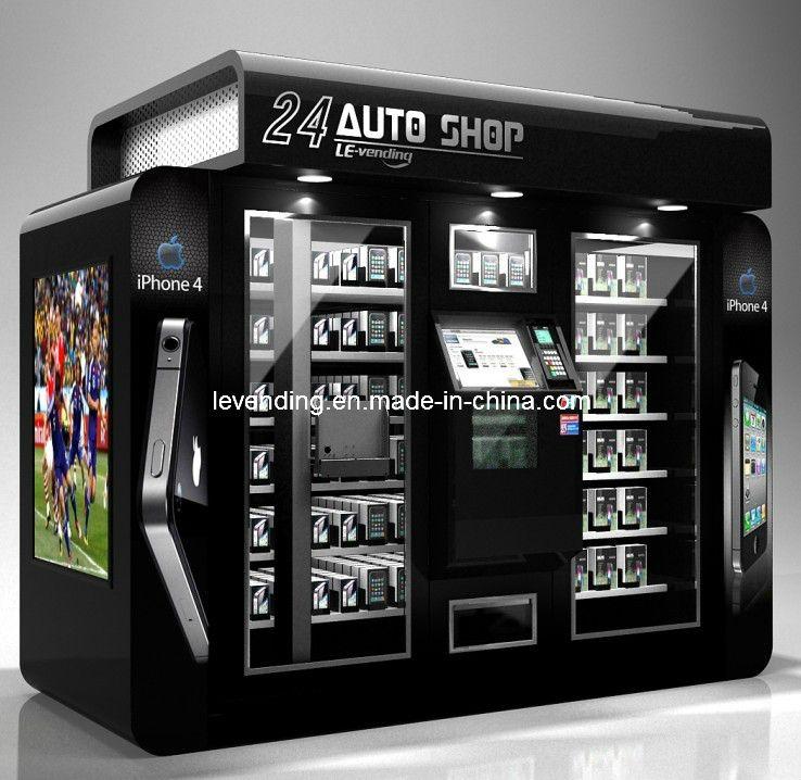 24hours Shop Auto Vending Machine With The Robot Arm Vending Machine Design Vending Machine Machine Design
