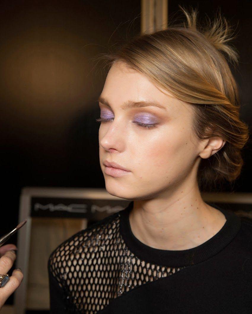lilac eyes / Chloé Beauty Backstage