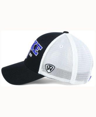Top of the World Duke Blue Devils Mesh Teamwork Snapback Cap - Black  Adjustable 9157c3e859be