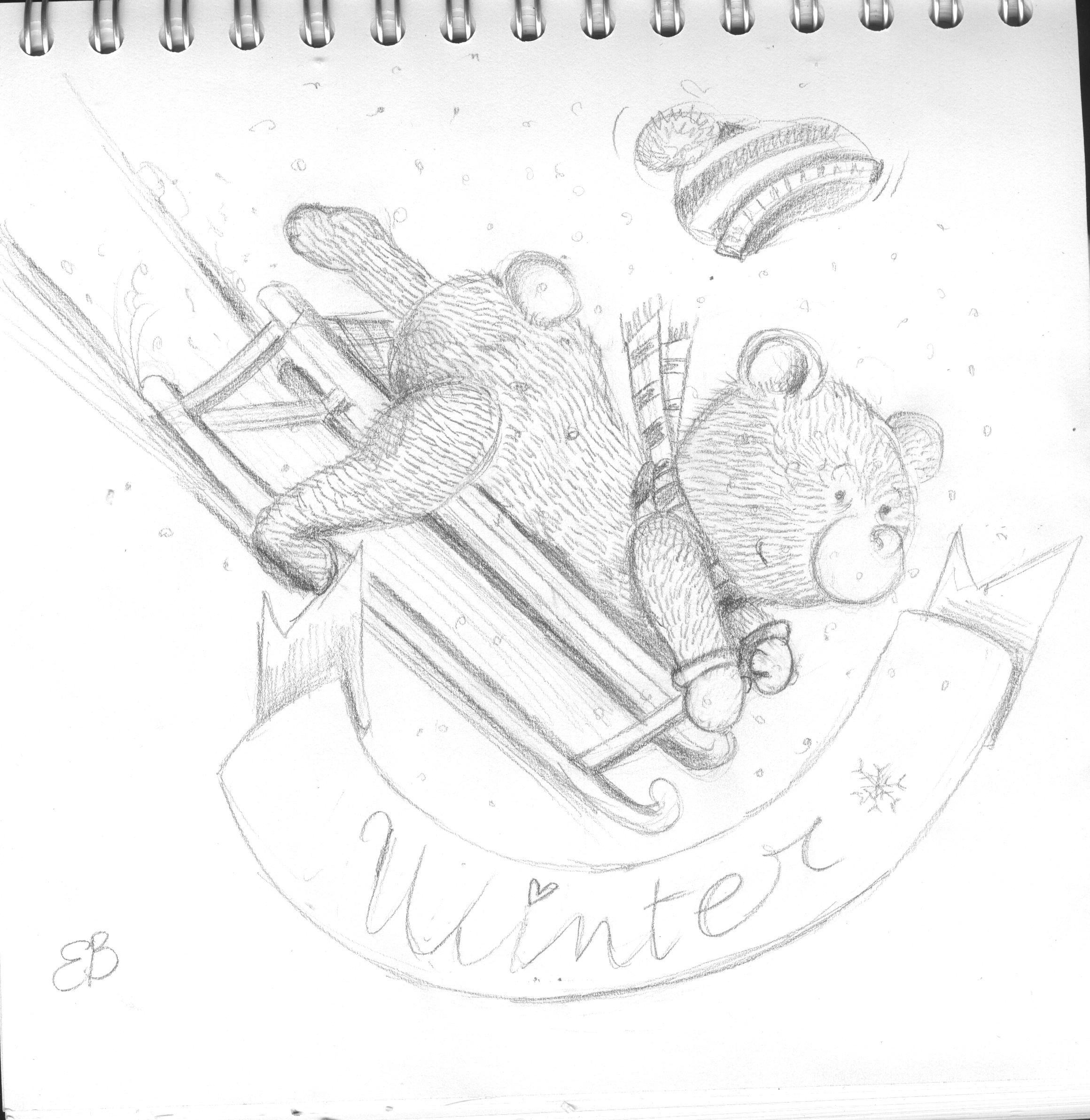 winter! sketch
