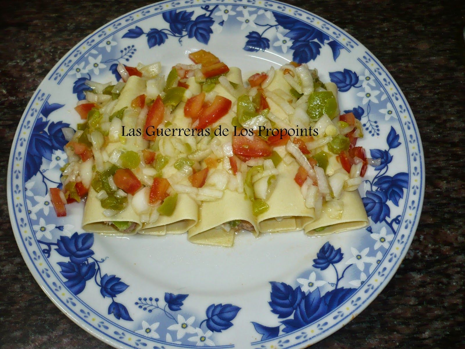 En la cocina con Ana : Dieta PP : Canelones de Verano Con Atún