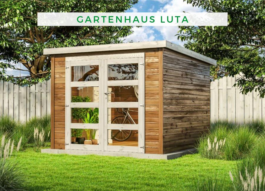 Gartenhaus Luta N1 28mm Gartenhaus Haus Gartenhaus Modern