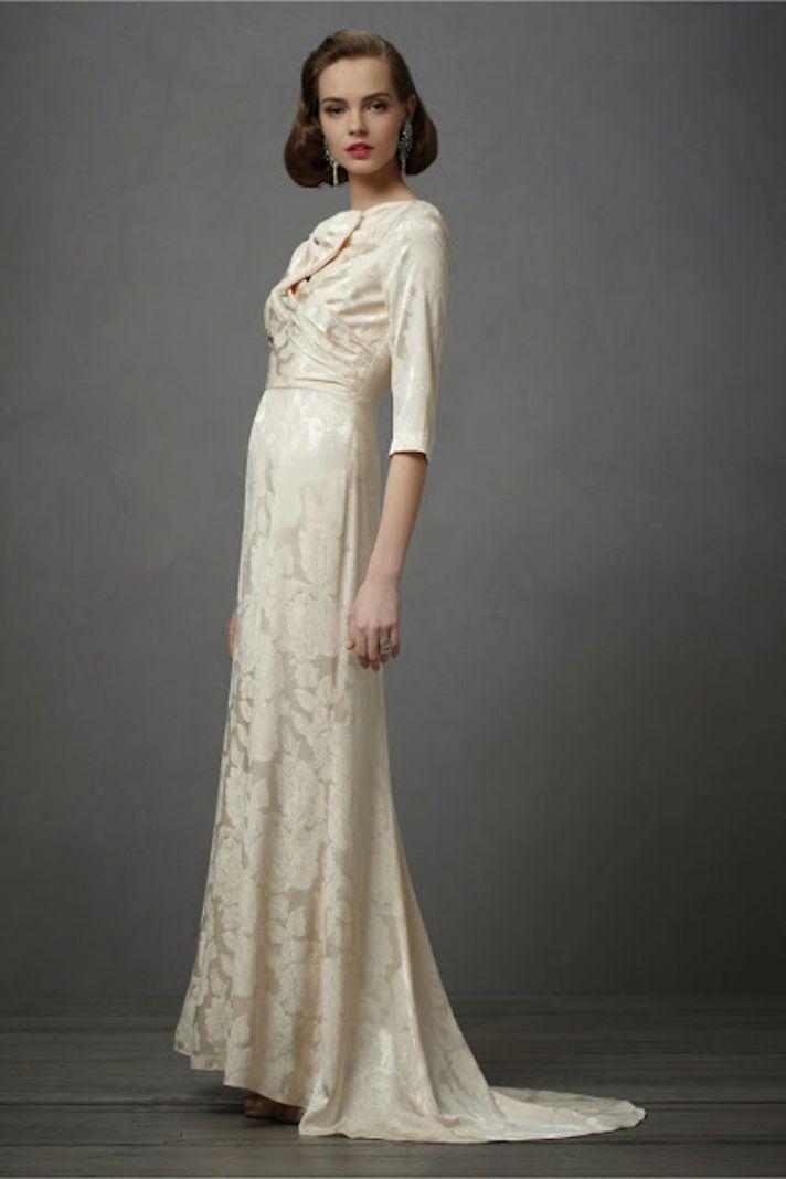 Shirtwaist Wedding Dresses Are Trending Now