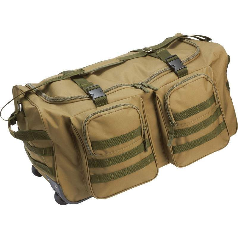Military Rolling Trolley Wheeled Travel Duffle Bag Luggage Suitcase Ebay Vacation Bargain 59 99