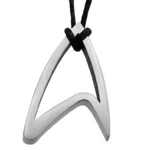 Star Trek pendant.  Want.