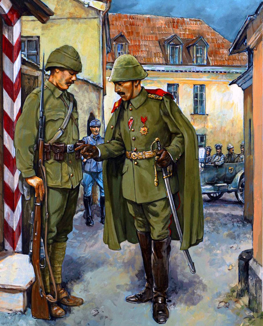 similarities between ww1 and ww2 enotes