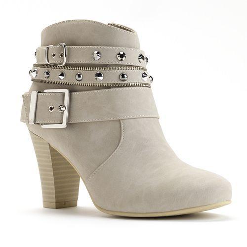 Jennifer Lopez Women's High Heel Ankle Boots #Kohls | Let's Get ...