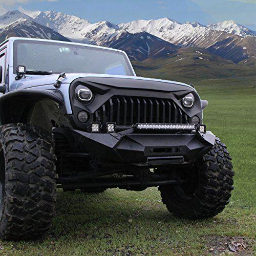 Esright Front Matte Grille Topfire Fury Grid Gladiator Va Https Www Amazon Com Dp B06xxx3vff Ref Cm S Jeep Wrangler Rubicon Jeep Wrangler Jeep Wrangler Jk