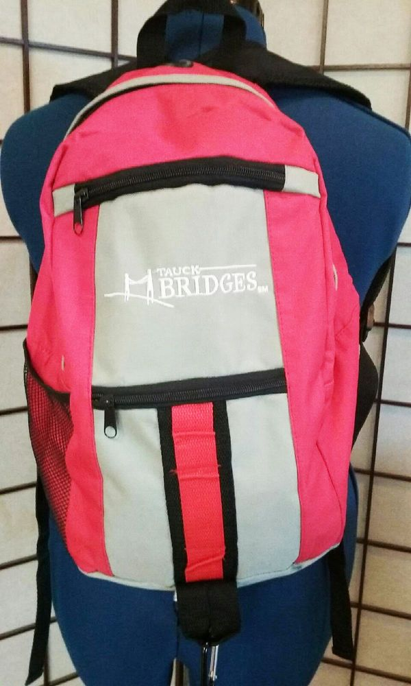 Tauck Bridges Hiking Travel Outdoors Sports School Backpack Bag  #tauckbridges