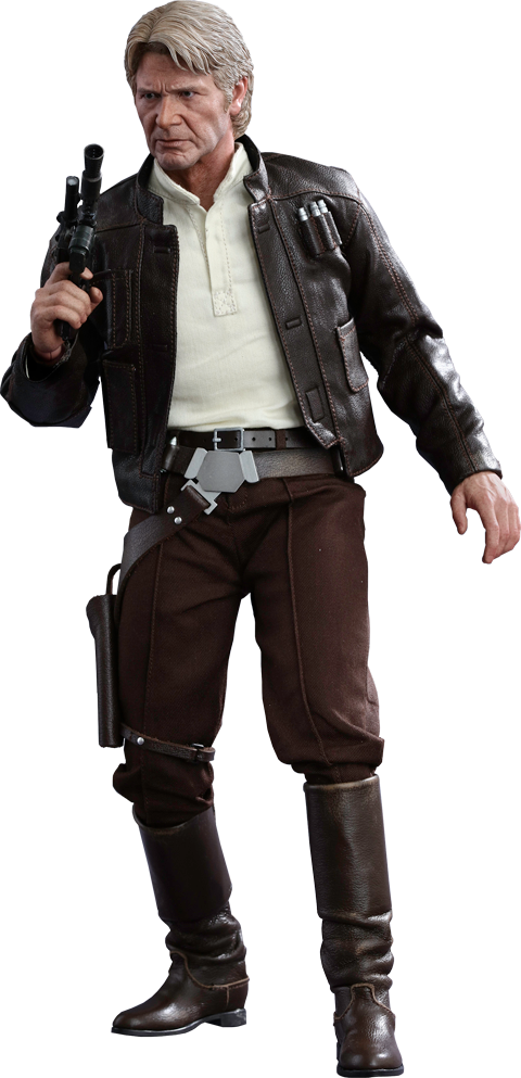 Han Solo 1 6th Scale Hot Toys Action Figure Star Wars Episode Vii The Force Awakens Hot Toy Star Wars Figurines Star Wars Collection Star Wars Episode Vii