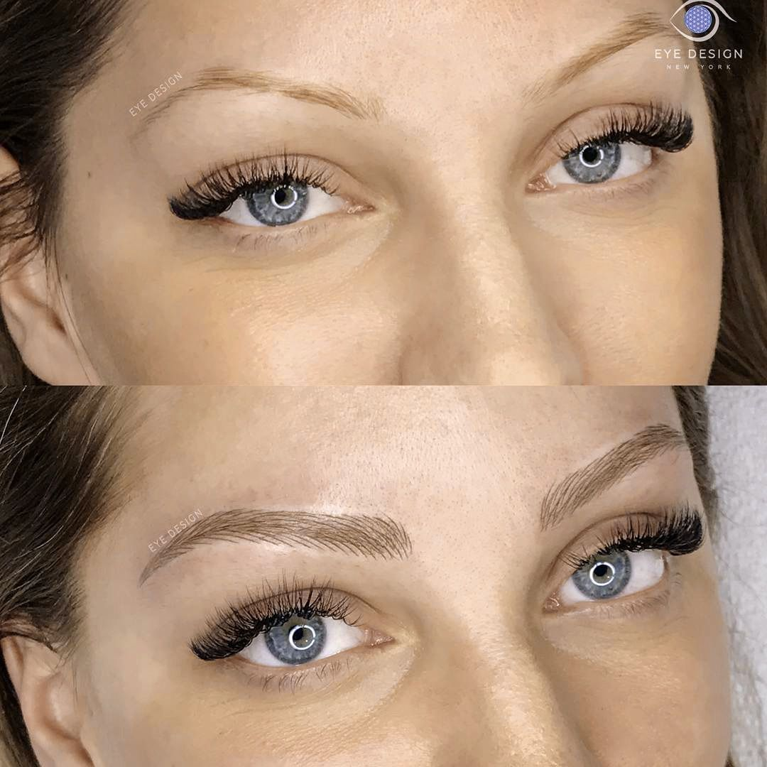 eyebrow tattoo aftercare exercise