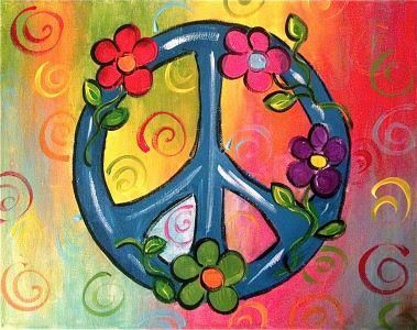 Peace Ya Ll Birthday Party Themes And Projects Pinterest Peace Sign With Color On Inside