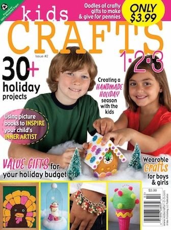 Check Out Kids Crafts 1 2 3 Magazine For Great Holiday Craft Ideas