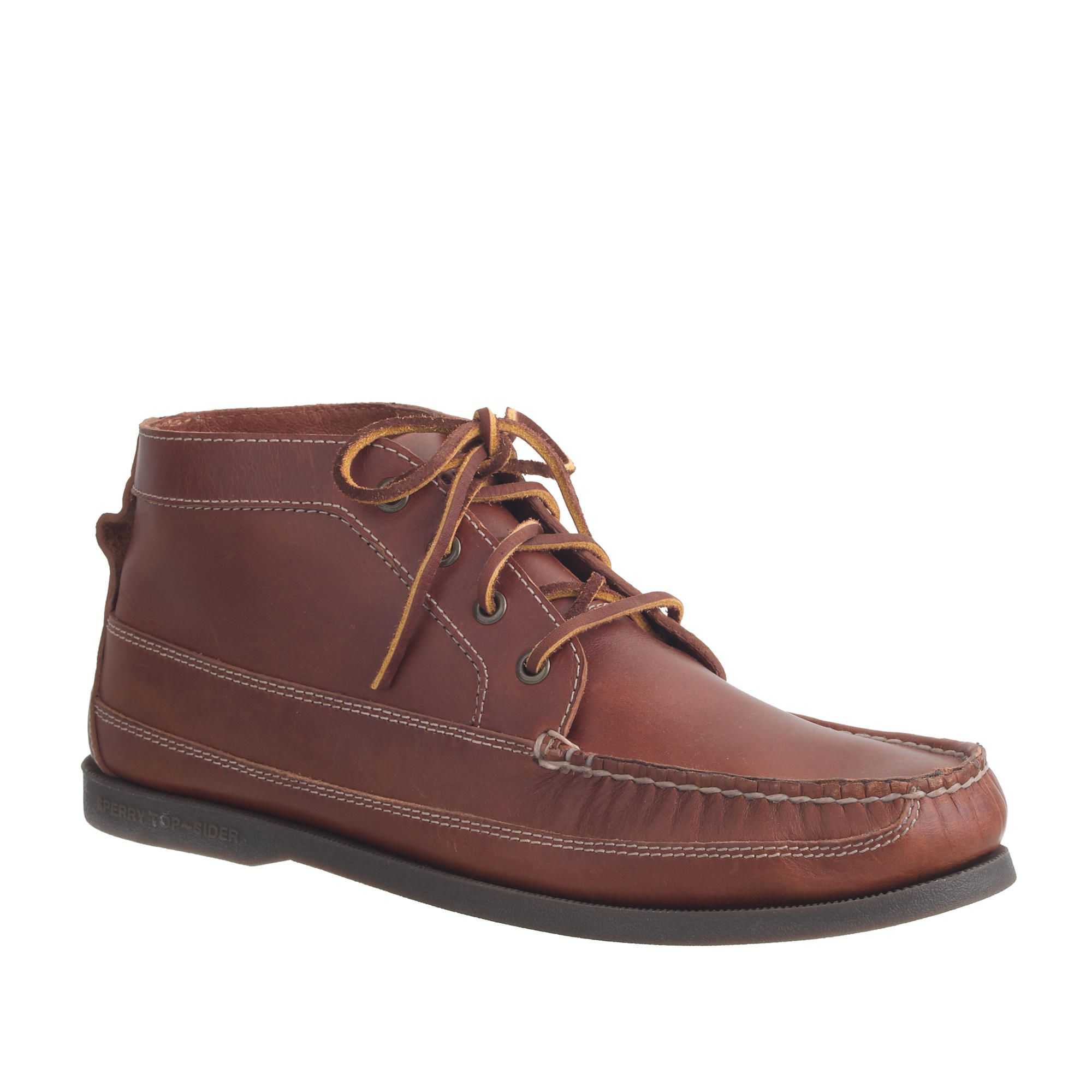 Men's Sperry Top-Sider® for J.Crew leather chukka boots : casual boots