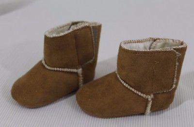 f6dc4559d9b WonderKids Unisex Slipper Boot Size 2 Toddler Tan Moccasin Faux Fur ...