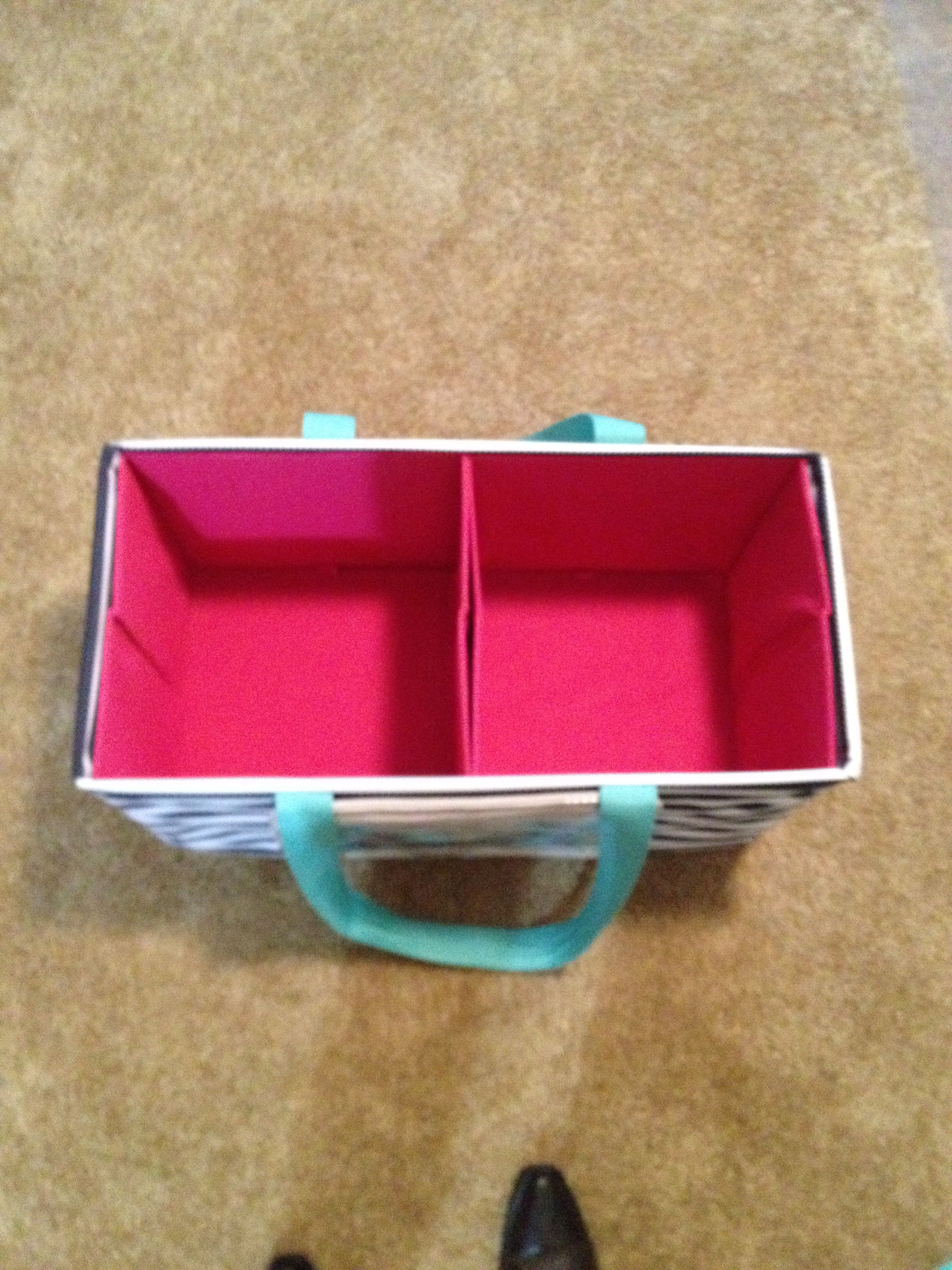 Diy Dollar General Square Bins 2 Fits Perfectly Into The Thirty One Large Utility Tote Www Myt Thirty One Organization Thirty One Totes