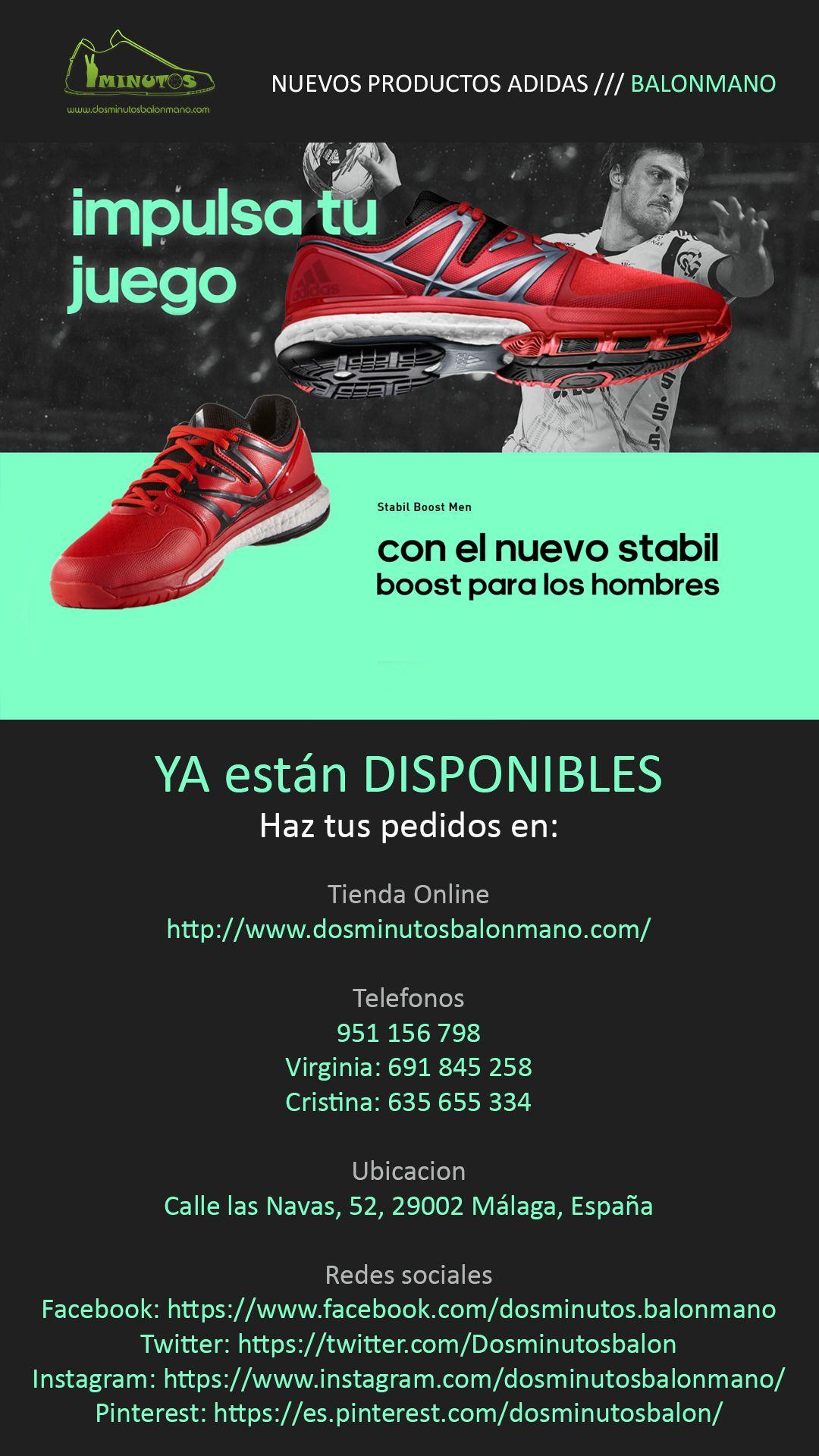 #zapatillas #stabil #boost NUEVOS PRODUCTOS ADIDAS /// BALONMANO  YA están DISPONIBLES