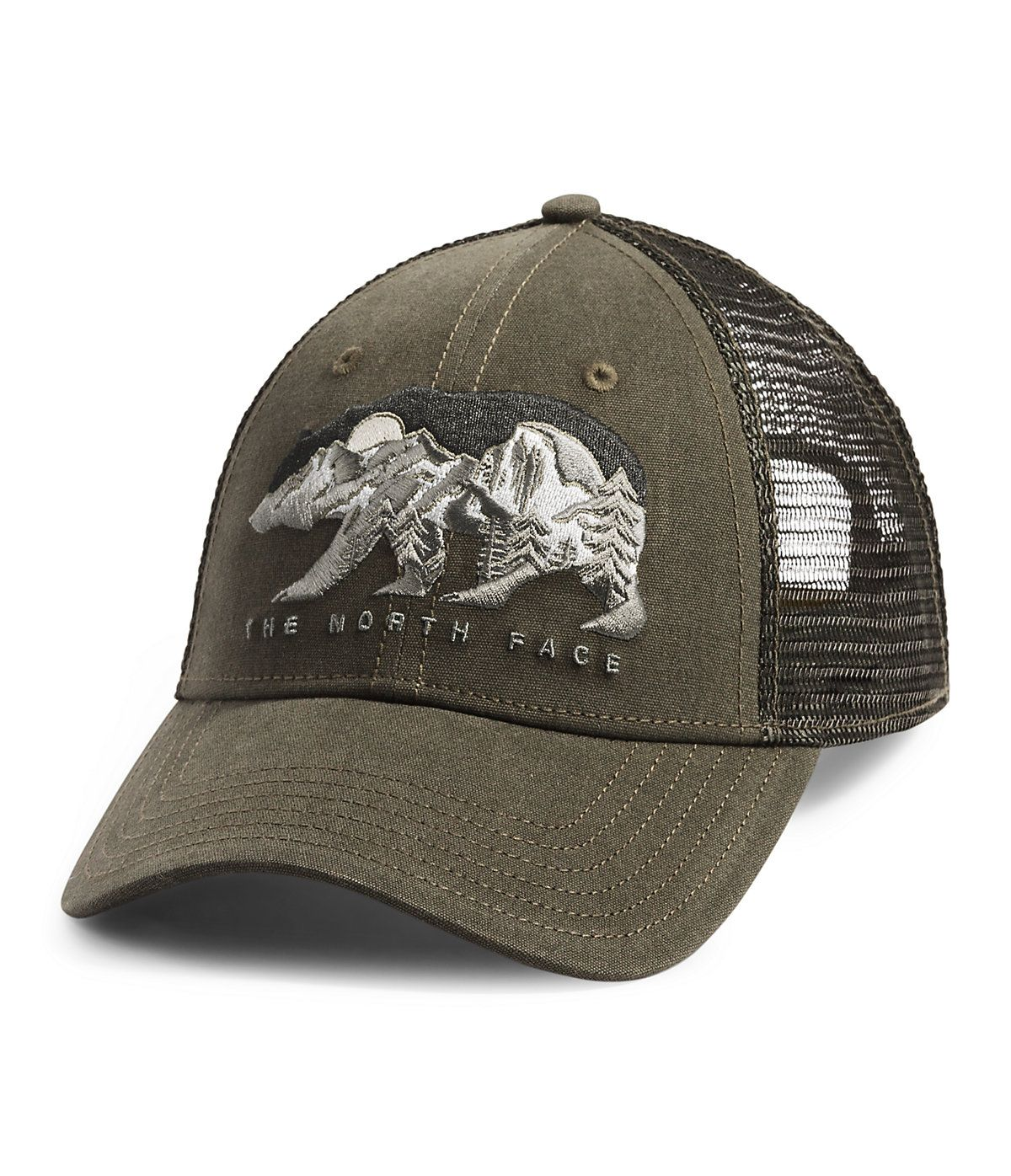 Embroidered Trucker Hat The North Face In 2021 North Face Cap Trucker Trucker Hat