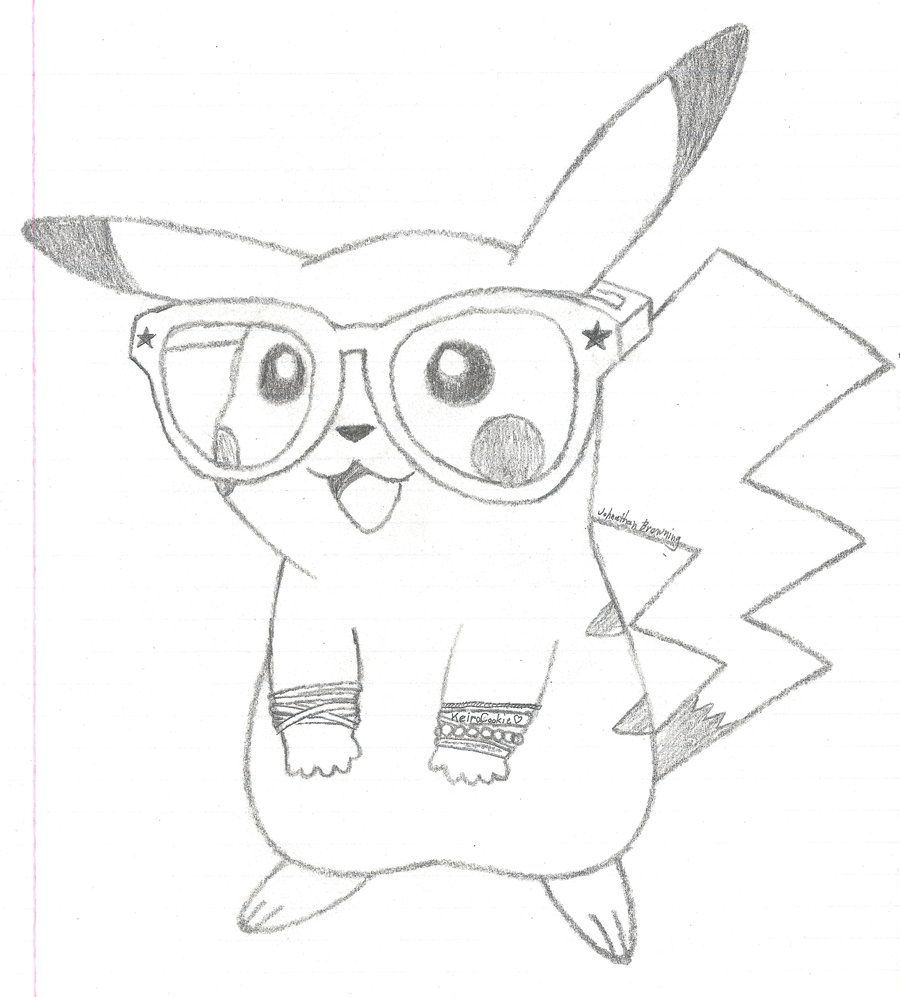 Pin On Nurdy Pikachu