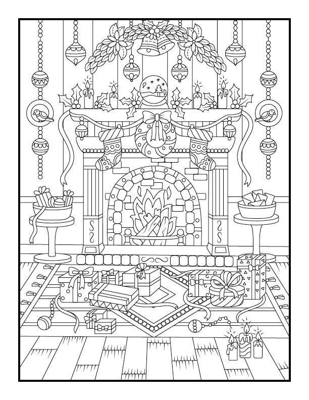 pages de noel coloriage imprimer par jade summer relaxing colors coloring sheets adult