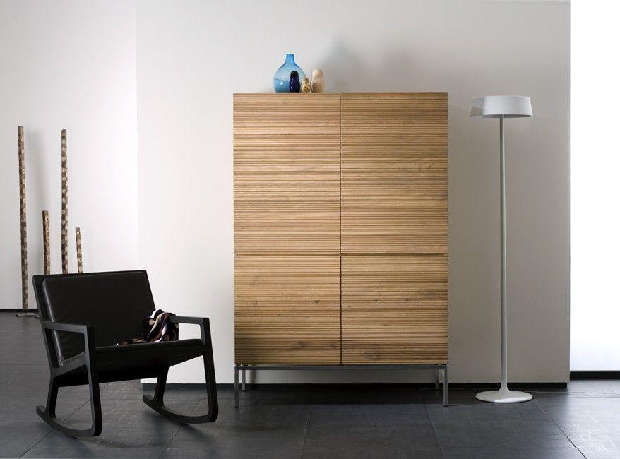 schrank eiche massivholz stonecut von ethnicraft erh ltlich in unserem store in koblenz. Black Bedroom Furniture Sets. Home Design Ideas