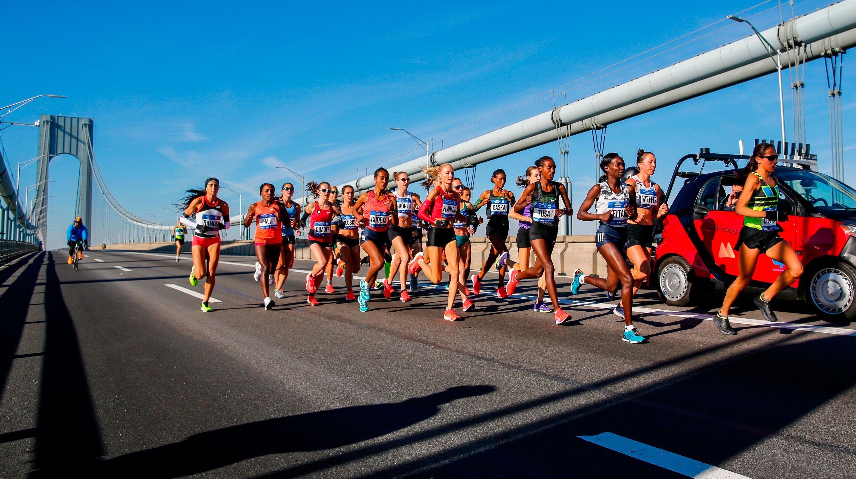 New York City Marathon Mary Keitany runs away with women