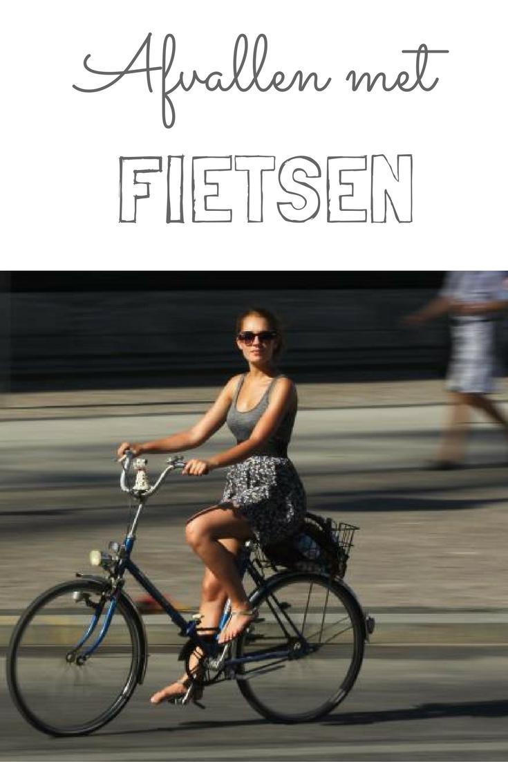 afvallen door fietsen