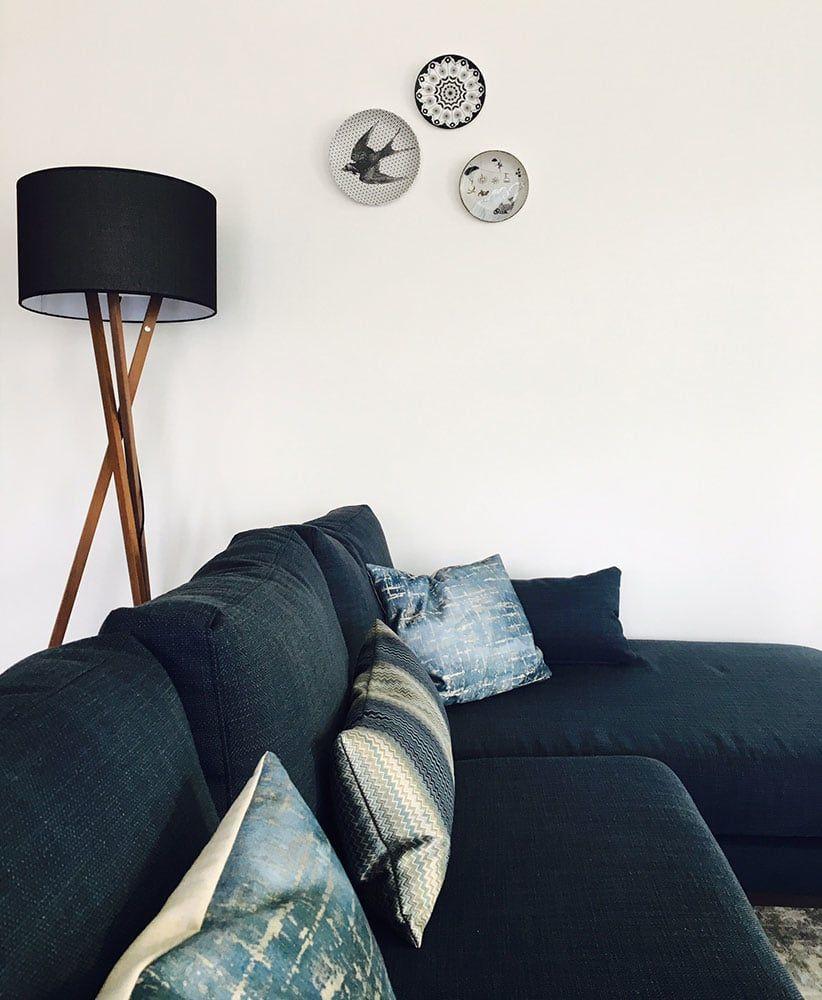 Finde Moderne Wohnzimmer Designs: Dekorative Teller Als Blickfang An Der  Wand. Entdecke Die Schönsten