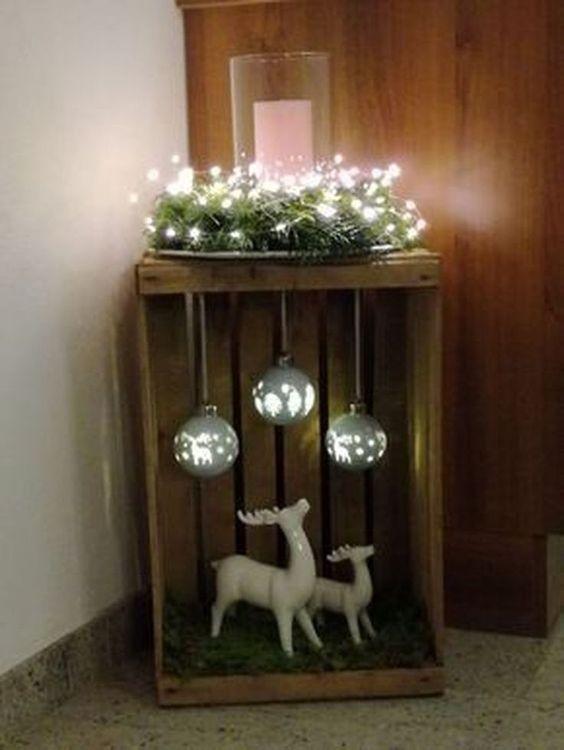 Basteln Sie Sich Die Schonste Winterdekoration Spart Viel Geld Und Es Macht Dazu Auch Sehr Viel Spass Kerst Kerst Ideeen Kerstdecoratie