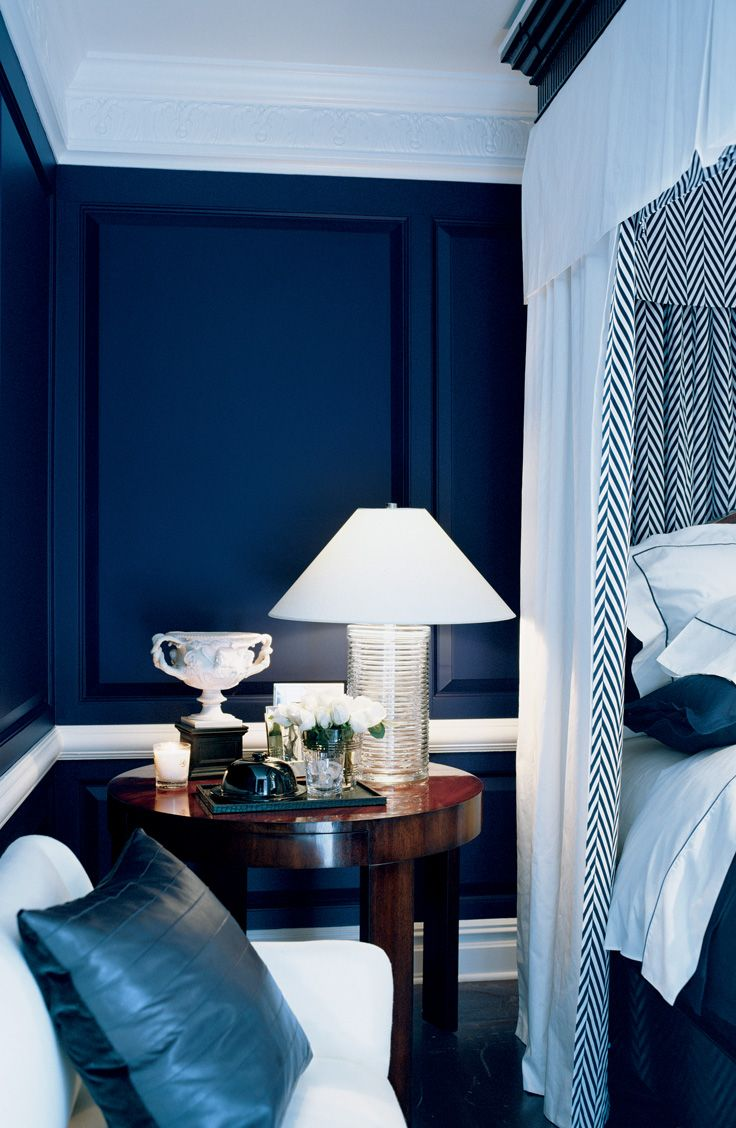 Create A Retreat A Rich Deep Bedroom Color Envelops The Space In