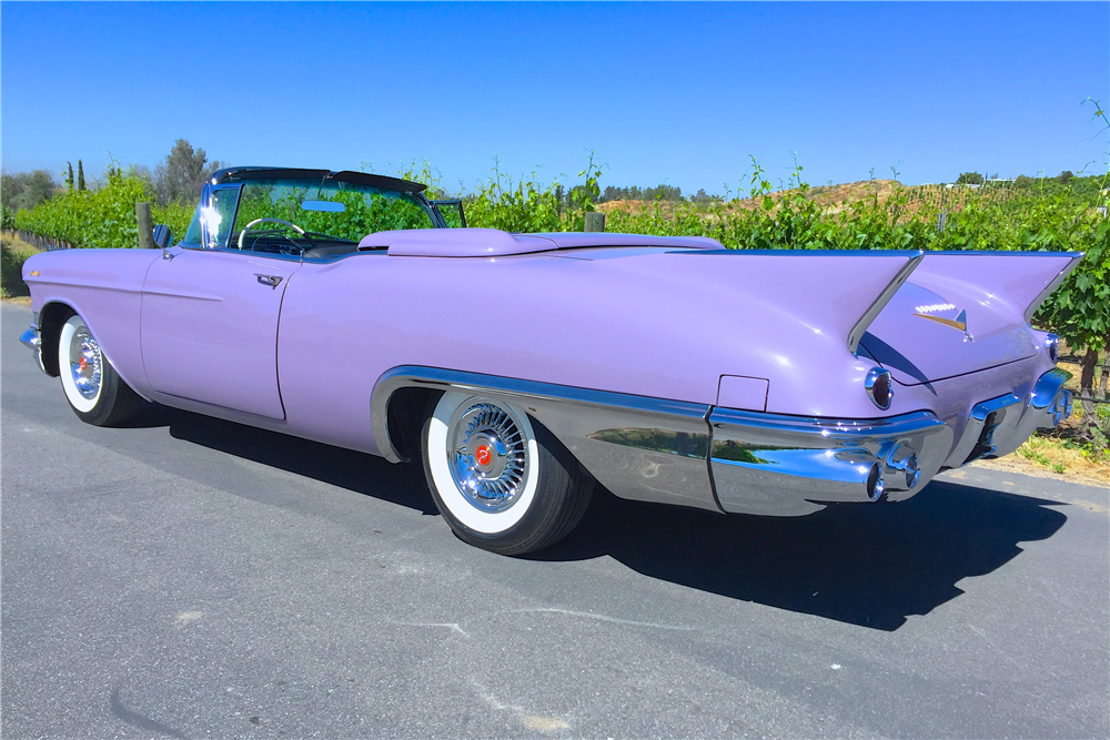 1957 CADILLAC ELDORADO BIARRITZ CONVERTIBLE – Barrett-Jackson Auction Company – World's Greatest Collector Car Auctions