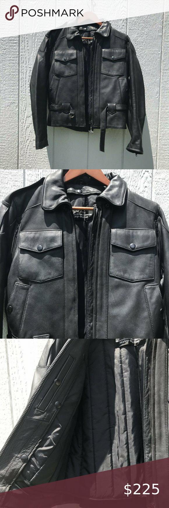 Vintage Harley-Davidson Women's Leather Jacket in 2020 ...