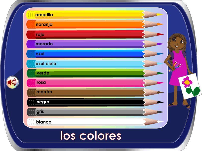 Cuál Es Tu Color Favorito Mi Color Favorito Es El Rojo Learing Spanish With The Whole Family Www Spanish Scho Learning Italian Learn French Learn German