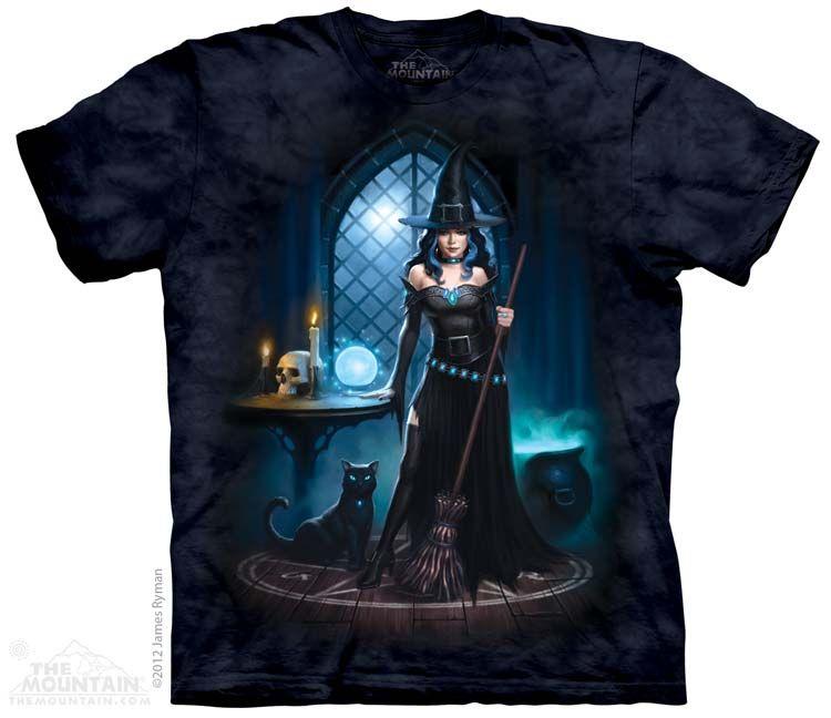 The Mountain - Erwachsenen T-Shirt - Witches Lair