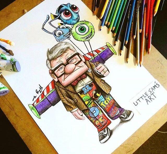 Buzz poo Up Monster Inc nemo – #Buzz #cartoon # pattern #nemo #poo