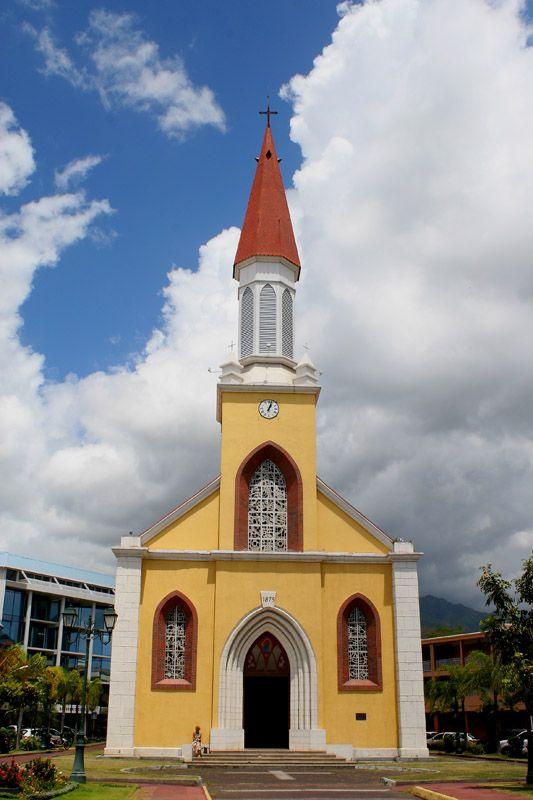 Church in Papeete, Tahiti