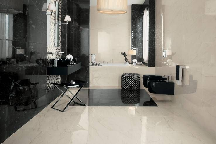 Marble look floors and walls by atlas concorde porcelain stone and