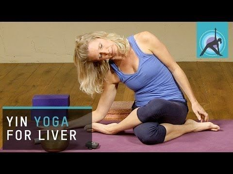 yin yoga pose for the liver with esther ekhart freeyoga