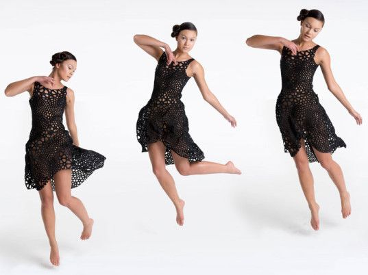 Nervous Systems' 3D-Printed Dress Drapes, Flows Like Actual Fabric | Ecouterre