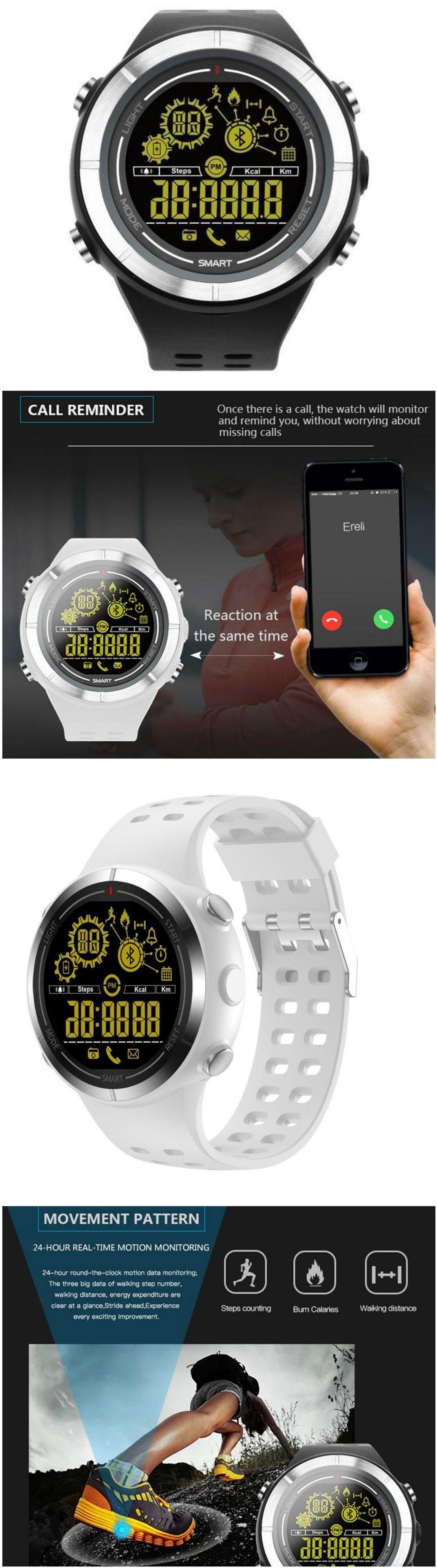 New Sports Bluetooth Smartwatch Waterproof Wristwatch with