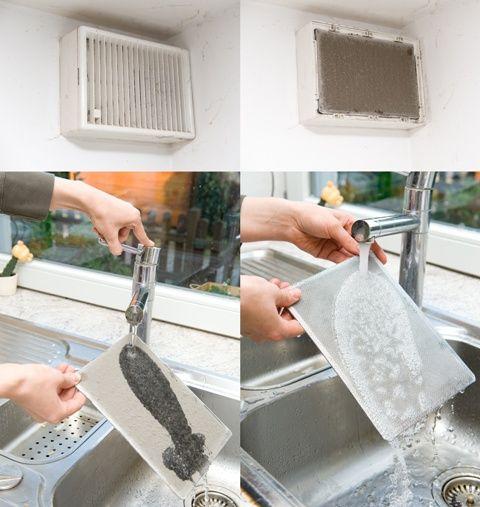 Trucs et astuces pour nettoyer vos bouches du0027aération Ma maison - nettoyage a sec maison