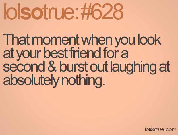 That Moment When You Look At Your Best Friend For A Second Burst