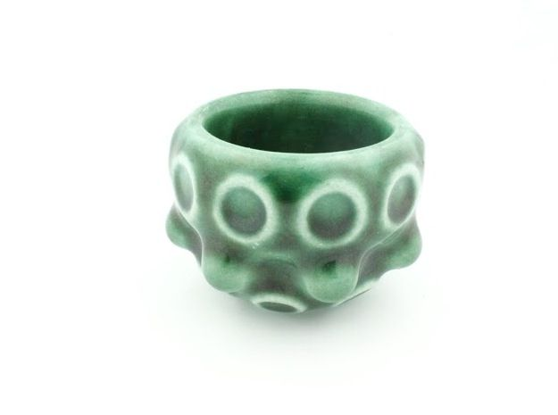 Archetype Shot Glass by BryanH its done in porcelain!!!...I found a Shapeways interview with Bryan on YouTube