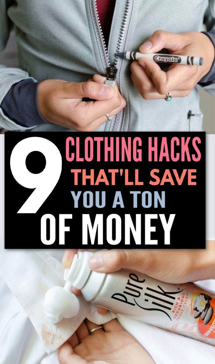 Fast Fixes for Clothing Catastrophes  One Good Thing by Jillee Here are some clothing hacks DIY thatll save you money and allow you to keep wearing your favorite outfits...