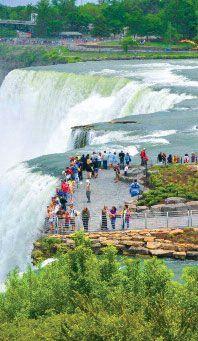 Luna Island, Niagara Falls Sta...