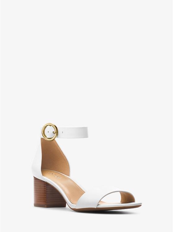Lena Leather Sandal | Michael Kors in